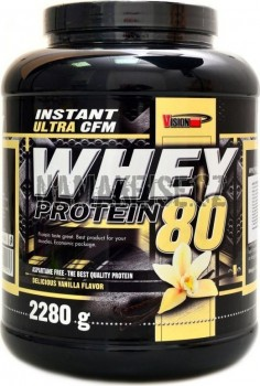VISION-nutrition CFM whey protein 80 2280 g -